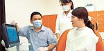 多喜歯科診療所での診療の様子